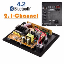 Buy 2018 Latest Nobsound HiFi Bluetooth 4.2 Digital 2.1 Channel Subwoofer Integrated Amplifier Speakers Board for $65.44 in AliExpress store