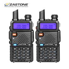 2pcs/lot dual band 136-174MHz & 400-520MHz walkie talkie UHF and Vhf ZT-V8 FM transceiver(China)
