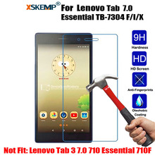 Buy XSKEMP 9H Tempered Glass Lenovo Tab 7 Essential TB-7304 F/I/X Anti-Shatter 0.3mm Transparent Tablet Screen Protector Film for $2.60 in AliExpress store