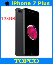 "Apple iPhone 7 Plus Factory Unlocked Original Mobile Phone 4G LTE 5.5"" Dual Core A10 12MP RAM 3GB ROM 128GB Cell phone(China)"
