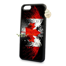 flag canada eagle  soft silicone hard back skin cell phone cases for 5c 5s 6 6s 6plus 6splus cover case