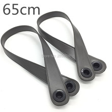 newest 1 pair new style diy handle 6 colors for your choice 2 length 45 cm 65 cm bag handle for obag