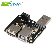 3DSWAY 3D Printer Part USB Module PC-Linked Printing Module Online Print Module For Lerdge Motherboard 32bit Controller(China)