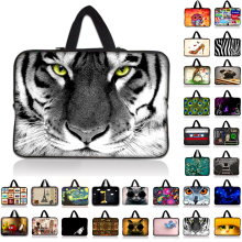 9.7 10 12 13 15 17 inch Tiger laptop bag tablet sleeve cases with handle PC handbag 13.3 15.6 14 inch computer notebook cover #6
