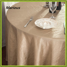10pcs Marious round Pintuck Taffeta Table Cloth \ Wedding Tablecloth no grid cloth cheap Free Shipping(China)