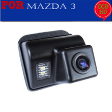 wireless wire parking camera for sony ccd Mazda 3 2004-2009 Mazda3 Car Reverse Rear View Parking Camera night vision(China)