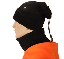 Black Football Neckerchief Soccer Scarf Outdoor Sports Windproof Multifunctional Fleece Warm Hat Football For Training 2017(China)