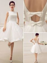 Cheap white mini Short Bridesmaid Dresses 2017 A-Line V-Neck Knee Length Lace Maid Honor Wedding Party Dress vestidos de festa