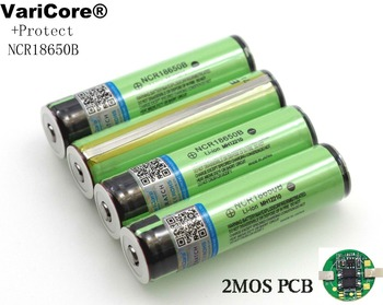 VariCore 2018 Protected 18650 NCR18650B 3400mAh Rechargeable Li-lon battery with PCB