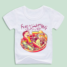 Children Fear and Loathing at Blips & Chitz T-shirts Kids Cartoon Tops Tee,Ready Stock(China)
