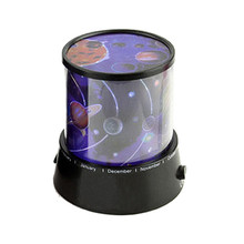 Amazing Flashing Colorful Sky Star Master Night Light Lovely Sky Starry Star Projector Novelty Romantic Gifts VEN52 T0.3(China)