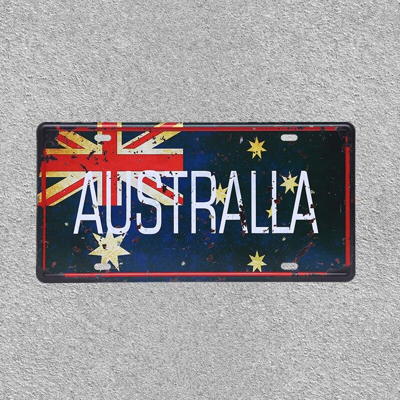 PALESTINE PALESTINIAN FLAG COUNTRY Metal License Plate Frame Tag Holder