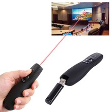 TB-032 PPT Pen Remote Power Point Presentation Laser Flip RF Remote Control Wireless Usb Electronic Pointer
