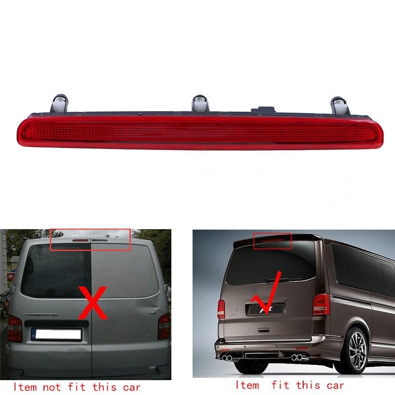 Car Rear LED 3rd Centre Brake Light Stoplight Tail Lamp For VW T5 GP Transporter Tailgate 2003-2010 OEM 7E0945097A #981<br><br>Aliexpress