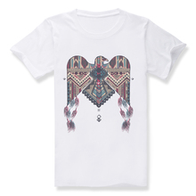 2016 Top Quality Indian Eagle Totem Summer Men's Cotton Short Sleeve T-shirt Fashion O-neck Casual 3D Digital print