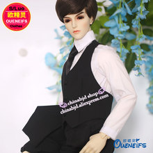 OUENEIFS free shipping man blouse coat waistcoat tie neckt iplehouse dollchateau switch fairyland soom ,1/3 bjd sd doll clothes