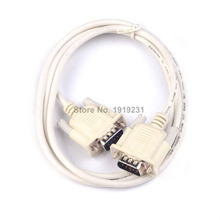 1PCS 1.5M Serial RS232 9 Pin Male To Male DB9 9 Pin COM Port Converter Connector Adapter Extension Cable for PC