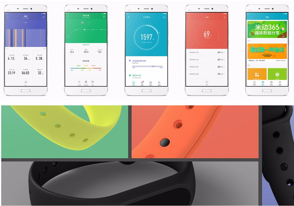 In stock 100% Original Xiaomi Mi smart wristband Xiomi Fitness Bracelet miband 2 mi band 2 for Xiaomi Mi6 sport tracker 14