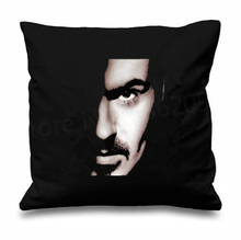 Hip Hop Music George Michael Older Cushion Cover Throw Pillow Case Choose Life Fashion Cool Custom Gifts Sofa Couch Decor 18""