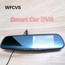 WFCVS Car Styling 1080P Video Camera Car DVR Rearview Mirror Auto dvrs With Dual Cam