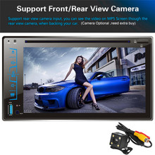 "FY6205C 6.2"" HD Capacitive Touch Screen Car Bluetooth Stereo DVD Player CD/MP3/FM/AM/USB/SD/AUX-IN 2 Din Receiver MP4 MP5 Player"