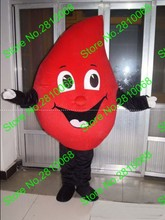 QIANYIDUOO Real picture EVA Material red Drop of blood Mascot Costumes Movie props party Cosplay cartoon Apparel 512