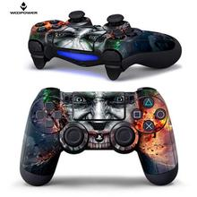 Woopower for PS4 Controller Designer Skin Stickers for Sony PS 4 Wireless Controller decor Zombie logo