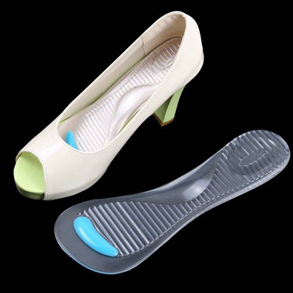 3beed54eb32 1 Pairs Silicone Gel Pad Shoes Insole Non-Slip Sandals High Heel Arch  Cushion Support