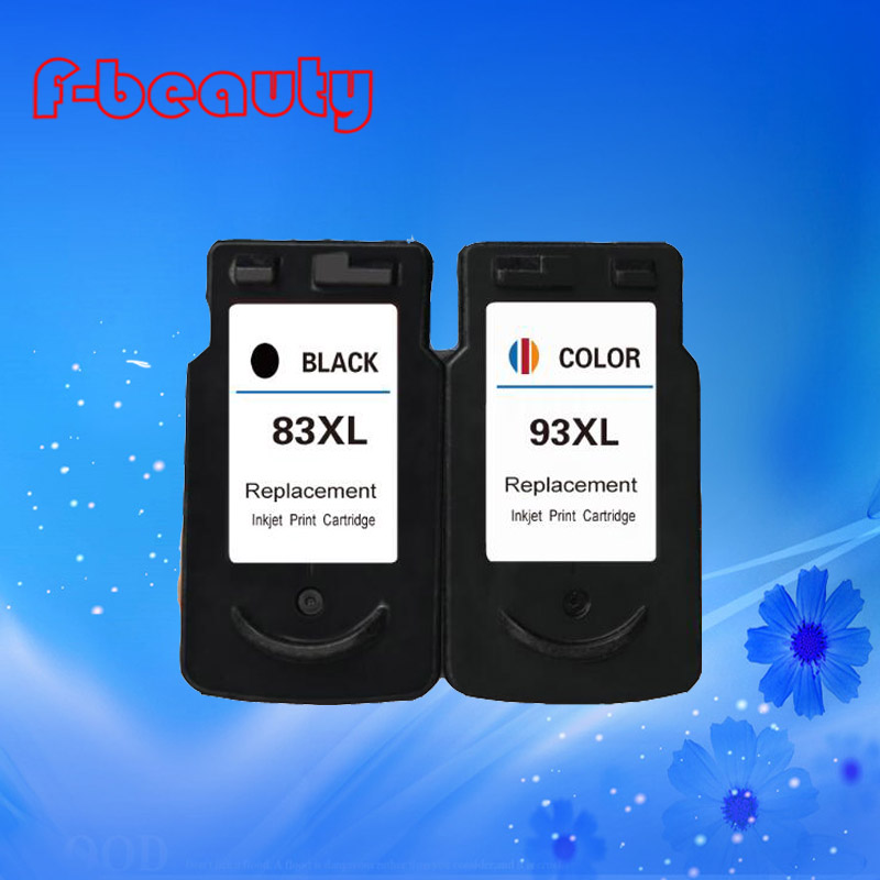 High quality New ink cartridge  compatible for Canon PG-83 CL-93 E618 E518 E608 large capacity  (easy to add ink )<br><br>Aliexpress