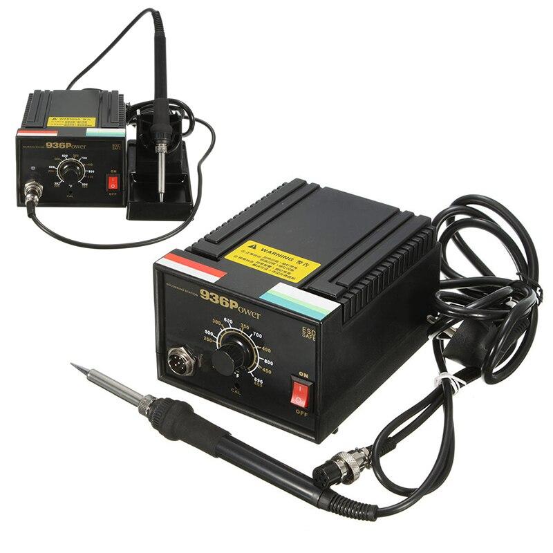 936 Frequency Change Welding Soldering Station Soldering Iron Holder Desoldering Kit Set 110V/220V Mayitr<br>