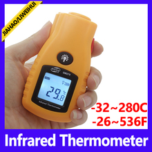 wholesale Mini laser thermometer infrared thermometer china manufacturer infrared temperature thermometer GM270 -32~280C