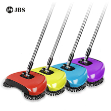 Hand Push Sweepers Spinning Brush As Machine Push Type Magic Broom 360 Dustpans Easy Vassoura Hard Floor For Lazy Cleaner(China)