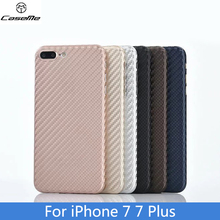 Imported woven carbon fiber material closely joint with PP back shell Mobile Phone Case For iPhone 6 6S 7 Plus Cover bag Coque(China)