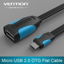 VENTION Micro USB OTG Cable Adapter 90 degree for HTC LG Sony Xiaomi Meizu Nokia N810 Nexus 7 Android mobile phone Tablet MP3