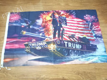 Buy 3x5ft digital print DONALD TRUMP TANK flag 90x150cm polyester banner 2 Metal Grommets for $6.97 in AliExpress store