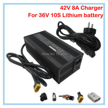 360W 36V bicycle charger Output 42V 8A lithium battery charger 36V 8A Charger XT60 for 36V Electric Bike Battery 5PCS Wholesale(China)