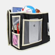 MSFU 6 Pockets Portable Bedside Hanging Storage Bags Household Bed side Hanging Suspended Book Phone Clothes Bag Organizer