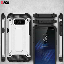 For Samsung S8 Hybrid Anti-knocked Shockproof Slim Rubber Armor Cellular Phone back Cover for Samsung Galaxy S8 Plus Cases Shell