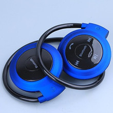 4.0 wireless Bluetooth headset TF card FM Radio Running stereo music player talking on cell phone headset with microphone