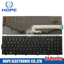 New Laptop Keyboard For DELL 7000 7557 7559 5547 5545 DPN 051CHY US Keyboard With Backlight