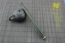Manufacturers   teachers appliance ebony thousand eyes bodhi gold engraving aloes tube joss stick pipe sandalwood barrels smoked