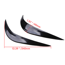 -95% OFF Universal Car Front Bumper Corner Guard Anti-rub/Anti-scratch Stickers Protector Trim Cover(China)