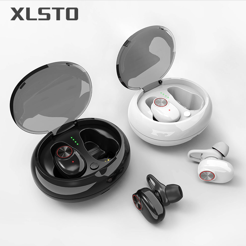 XLSTO Wireless Bluetooth Headphones Sport Earbuds TWS Earphone with Microphone Charging Box Subwoofer audifonos for Mobile Phone (7)