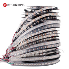 1m/4m/5m WS2812B 30/60/74/96/100/144 pixels/leds/m Smart led pixel strip,Black/White PCB,WS2812 IC;WS2812B/M,IP30/IP65/IP67 DC5V(China)