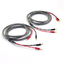 Fever level Main speaker line Pure copper HIFI audio speaker cable Power amplifier cable(China)