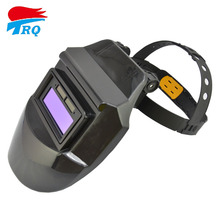 Solar battery Auto Darkening Welding Helmet Lens Welding Filter Welding Equipment TIG MIG MMA Electric Black Mask Free Shipping(China)