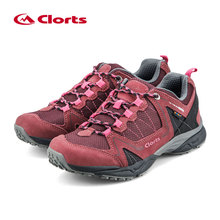 2016 Women Clorts Outdoor Shoes 6270726 Cow Suede Hiking Shoes Uneebtex Camping Shoes EVA Sports Shoes for Women(China)