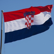 New Arrival Croatia Flag 90x150cm Croatian National Flags Polyester 3x5 ft Festival Home Indoor Outdoor Banner F047