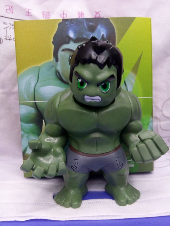 Avengers 3 Infinity War Hulk Q Version PVC Action Figure Collectible Model Toy 16cm KT1280<br><br>Aliexpress