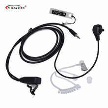 Air Acoustic Headset with Mic for Cobra Walkie Talkie CXT225 CXT425 MT600 MT975 Headset New Air-Tube Acoustic Headset